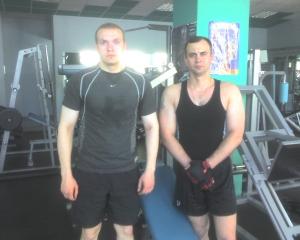 Виктор Ермилкин и Владимир Дармограй